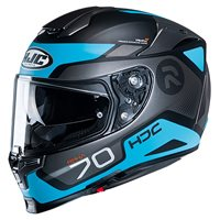 HJC RPHA 70 Shuky Motorcycle Helmet (Black|Grey|Blue)
