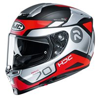 HJC RPHA 70 Shuky Motorcycle Helmet (Silver|Red)