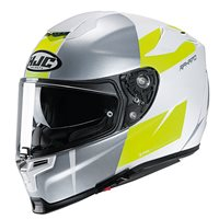 HJC RPHA 70 Terika Helmet (Silver|White|Fluo Yellow)