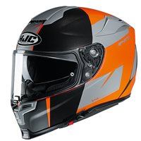 HJC RPHA 70 Terika Motorcycle Helmet (Grey|Orange)