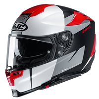 HJC RPHA 70 Terika Motorcycle Helmet (White|Grey|Red)