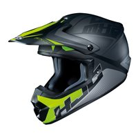 HJC CS-MX II Ellusion Moto-X Helmet (Black)
