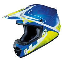 HJC CS-MX II Ellusion Moto-X Helmet (Blue)