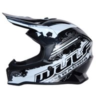 Wulfsport Off Road Pro Kids Moto-X Helmet (Black)