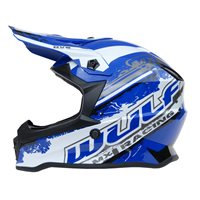 Wulfsport Off Road Pro Kids Moto-X Helmet (Blue)
