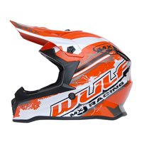 Wulfsport Off Road Pro Kids Moto-X Helmet (Orange)