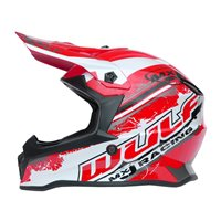 Wulfsport Off Road Pro Kids Moto-X Helmet (Red)
