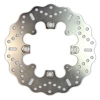 EBC Solid Rear Brake Disc With Contoured Profile / ABS Ring Fitted (MD4164AC)