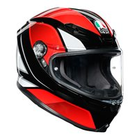 AGV K6 Hyphen Motorcycle Helmet (Black|Red|White)