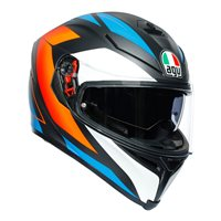 AGV K5-S Core Helmet (Black|Blue|Orange)