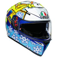 AGV K3 SV-S Rossi Winter Test 2016 Helmet