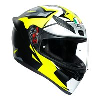 AGV K1 Replica MIR 2018 Helmet (Silver|Yellow|Black)