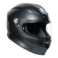 AGV K6 Matt Black Motorcycle Helmet