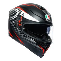AGV K5-S Thunder Helmet (Matt Black|White|Red)