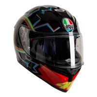AGV K3 SV-S VR46 Motorcycle Helmet (Black|Red|Blue)
