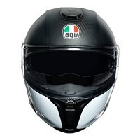 AGV Sports Modular Layer Flip Front Helmet (Carbon|Red|Blue)