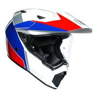 AGV AX9 Atlante Helmet (White|Blue|Red)