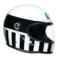 AGV Legends X3000 Invictus Helmet (Black|White)