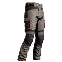 RST Atlas CE Textile Motorcycle Trousers 2420 (Grey|Black|Red)
