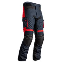 RST Atlas CE Textile Motorcycle Trousers 2420 (Navy|Black|Red)