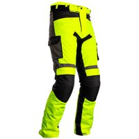 RST Atlas CE Textile Motorcycle Trousers 2420 (Flo Yellow|Black)