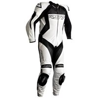 RST Tractech Evo 4 CE One Piece Leathers (White|Black) 2355