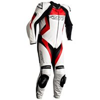 RST Tractech Evo 4 CE One Piece Leathers (White|Red) 2355