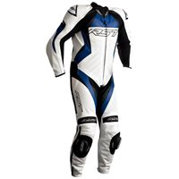 RST Tractech Evo 4 CE One Piece Leathers (White|Blue) 2355