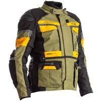 RST Pro Series Adventure-X CE Textile Jacket 2409 (Green|Ochre)