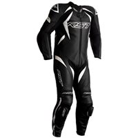 RST Tractech Evo 4 CE One Piece Leathers (Black|White) 2355