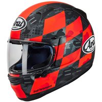 Arai Profile-V Patch Red Motorcycle Helmet