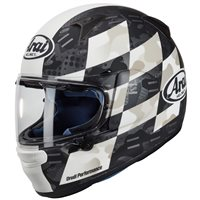 Arai Profile-V Patch White Motorcycle Helmet