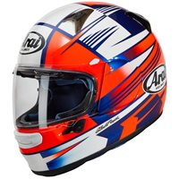 Arai Profile-V Rock Motorcycle Helmet (Blue/Red)