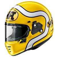 Arai Rapide HA Motorcycle Helmet (Yellow)