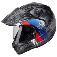 Arai Tour-X 4 Motorcycle Helmet Cover (Matt MSport Blue)