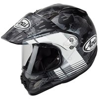 Arai Tour-X 4 Motorcycle Helmet Cover (Matt Black|White)