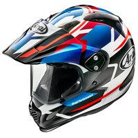 Arai Tour-X 4 Motorcycle Helmet Depart (Blue Metallic)