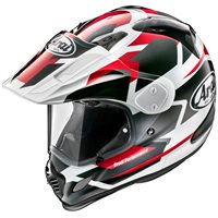 Arai Tour-X 4 Motorcycle Helmet Depart (Red Metallic)