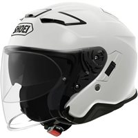 Shoei  J-Cruise 2 Open Faced Helmet (Plain White)