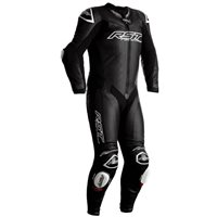 Race Dept V4.1 Kangroo One Piece Leathers (Black) 2551 by RST