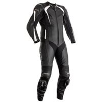 RST R-Sport CE One Piece Leathers (Black/White) 2967