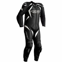RST Tractech Evo 4 CE Youth One Piece Leathers (Black/White) 2356
