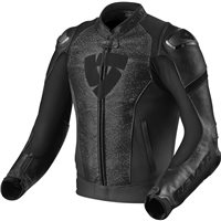 Revit Leather Jacket Quantum (Black)