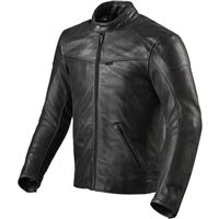 Revit Leather Jacket Sherwood (Black)