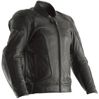 RST GT Airbag CE Leather Jacket 2973 (Black)
