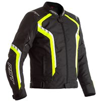 RST Axis CE Textile Jacket 2364 (Black/Flo Yellow)