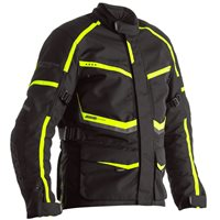 RST Maverick CE Textile Jacket 2361 (Black/Neon Yellow)