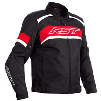RST Pilot CE Textile Jacket 2368 (Black/Red)