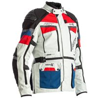 RST Pro Series Adventure-X CE Textile Jacket 2409 (Ice Blue/Red)