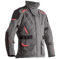 RST Pro Series Pathfinder CE Textile Jacket 2362 (Grey/Red)